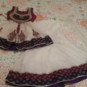 Chaniya choli Diwali party outfit girls 7 8